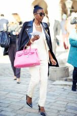 Street Chic - Concert, Festival, and Fashion Week Street Fashions - ELLE