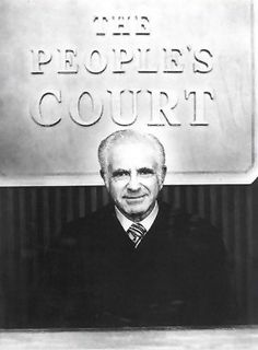 Joseph A. Wapner in The People's Court