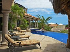 5BR Villa Antigua is a wonderful hacienda-style vacation rental in Cabo San Lucas #Mexico #travel