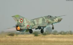 Mikoyan-Gurevich MiG-21bis - Bulgarian Air Force : Krumovo AB, Bulgaria, 4th September 2011
