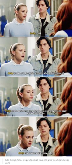 New funny girl quotes truths eyes 32 ideas Bughead Riverdale, Riverdale Funny, Riverdale Memes, Betty Cooper, Alice Cooper, Riverdale Cole Sprouse, The Ancient Magus Bride, Betty And Jughead, Funny Girl Quotes