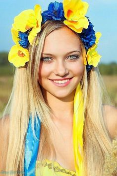 Украиночка.