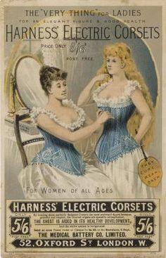 19th century corset ads... - 19th Century Post