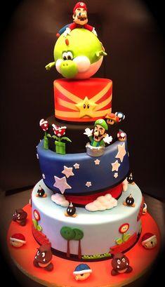 Cake Designer: Torta Super Mario