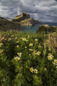 ~~Lindos | a beautiful town located on the west coast of Rhodes, Greece | by Gonzalo Navarro Photographs~~