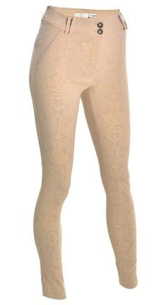 You'll love the softness of these nude jacquard print pants #DYNHOLIDAY looooove themmm