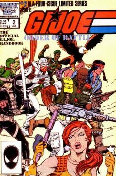 gi joe cover marvel number one | Marvel's G.I. Joe: Order of Battle Issue # 2
