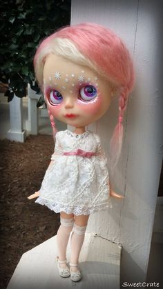 RESERVED for Stef Final Payment OOAK Blythe Doll 5 by SweetCrate