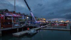 """Der #VolvoOceanRace ist voller Action, Spannung und viel Spaß. Wir lieben solch """"brisant, stürmische"""" Projekt und supporten gerne mit unseren Zelten und Hallen."""