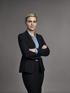 """""""Better Call Saul"""" returns on Monday, Feb. and in anticipation of the premiere, Variety has first-look character portraits for Season Casual Attire For Women, Business Casual Attire, Professional Attire, Business Formal Women, Rhea Seehorn, Capsule Wardrobe Work, Office Wardrobe, Corporate Portrait, Business Portrait"""