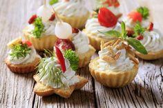 Partysnacks Fingerfood Rezepte kalte Vorspeisen mit Teig