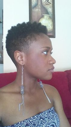 Tapered Twa Hair