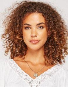 Dark Curly Hair, Curly Hair Styles, V Neck, Women, Fashion, Moda, Black Curly Hair, Fashion Styles, Fashion Illustrations