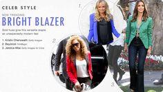 Colored Blazers are Big for Fall! Get them for over 50% off!