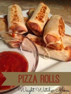 These little pizza rolls are amazing! They are perfect for snacking on, to take in a school lunch, or as an appetizer! I found these li...