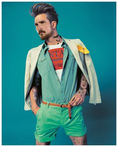 Christian Bale | Celebrities Turned Into Hipsters