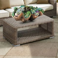 Sunset West Coronado Coffee Table In Driftwood   2101 Ct