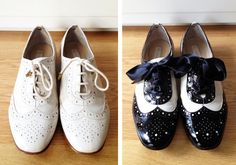 Cute DIY Oxford Shoes