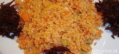 Fotorecept: Quinoa so zeleninou Fried Rice, Quinoa, Fries, Ethnic Recipes, Food, Essen, Meals, Nasi Goreng, Yemek