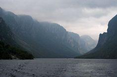 Western Brook Pond, Newfoundland, Canada