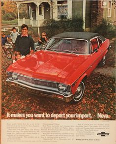1969 Chevrolet Nova advertisement