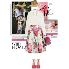 How To Wear floral chic Outfit Idea 2017 - Fashion Trends Ready To Wear For Plus Size, Curvy Women Over 20, 30, 40, 50