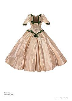 Marquise Estella Baroque Rococo Tailleur velours noir//or Robe comtesse