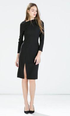 MINIMAL + CLASSIC: Zara dress FW2015