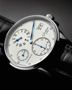 Basel 2013 - Glashütte Original - Senator Chronometer Regulator