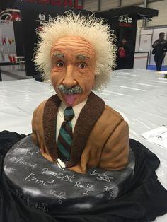 Albert Einstein Cake by İnci Orfanlı Erol