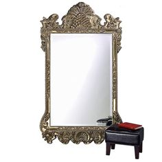 Howard Elliott Marquette Antique Oversized Mirror, Leaning Wall Ornate Mirror, Full Length, Silver Leaf, x x Mirror Wall Collage, Mirror Gallery Wall, White Wall Mirrors, Lighted Wall Mirror, Silver Wall Mirror, Rustic Wall Mirrors, Contemporary Wall Mirrors, Ornate Mirror, Round Wall Mirror