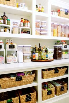 Pantry makeover. More