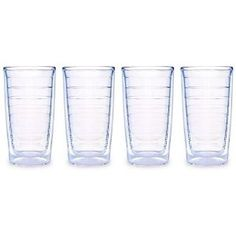 #9: Tervis Tumblers Clear 16oz 4 Pack