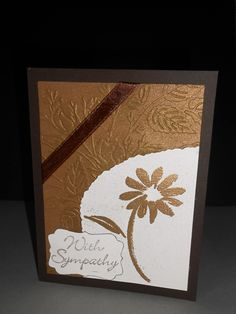 """Tee & Cee Creations. : """"With Sympathy"""" cards"""