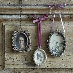 mini picture frames | product options Josephine jewel 8h x 6w cm £9.50 Josephine silver ...