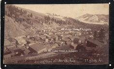 Colorado Catalog: historical books, maps and photographs.  Mt. Gothic Tomes and Reliquary