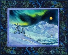 Denali Night Fabric Panel - not sure about this one, I want to create the look but I know I could do some neat effects on this panel