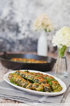 Hasselback-Zucchini
