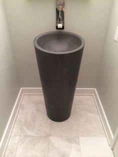 Concrete Pedestal Sink