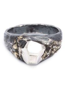Lee Brennan Design - Silver Celtic ornament ring