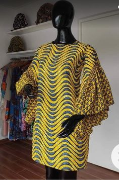 Ankara Short Gown Styles, African Print Dresses, African Dresses For Women, African Attire, African Fashion Ankara, Latest African Fashion Dresses, African Print Fashion, Africa Fashion, African Inspired Clothing