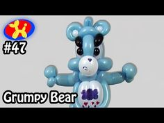 This week's challenge is Grumpy Bear from Care Bears Balloon! The Balloon Show where I try to make cool things out of . Balloon Show, The Balloon, Ballon Animals, Fails, Balloons, Doll, Bear, Party, Youtube