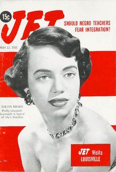 Jet Magazine Visits Louisiville, Kentucky - Jet Magazine, May 12, 1955