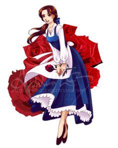 "A Bela e a Fera ~ Ashleigh Brett aka ""GoldPrincess"" Bella Disney, Disney Princess Belle, Disney Nerd, Disney Fan Art, Cute Disney, Disney Girls, Disney Princesses, Pocket Princesses, Film Disney"
