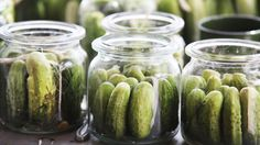 Canning, tis the season to make pickles!!!