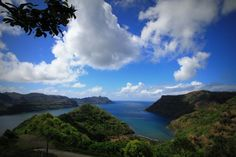 On Nuka Hiva Island, near Taipivai. Just freaking beautiful there!