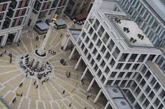 Paternoster Square as seen from St. Paul's Cathedral - London Stock Exchange Building on the right is the London Stock Exchange Black Swan Event, Economic Environment, London Stock Exchange, Investment Firms, All About Eyes, Solar, Cathedral, News Latest, Daily News