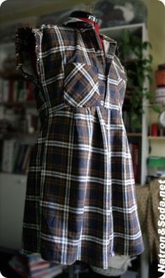 Tunika aus Hemd