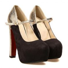 $19.37 Party Women's Pumps With Splice and Platform Design