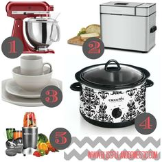 Kitchen Gadget Must Haves:) - a great list of gadgets and helpful kitchen tools